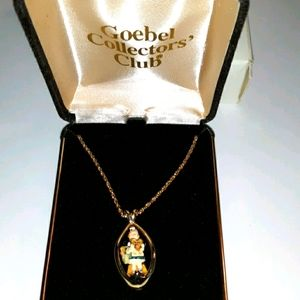 Goebel Collectors Club Necklace in Box